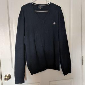 Navy Brooks Brothers Sweater XL